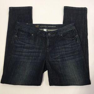 Women's LC Lauren Conrad Jeans size 6 dark wash